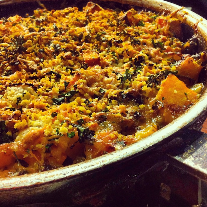 Butternut Squash And Sweet Potato Gratin Recipes — Dishmaps